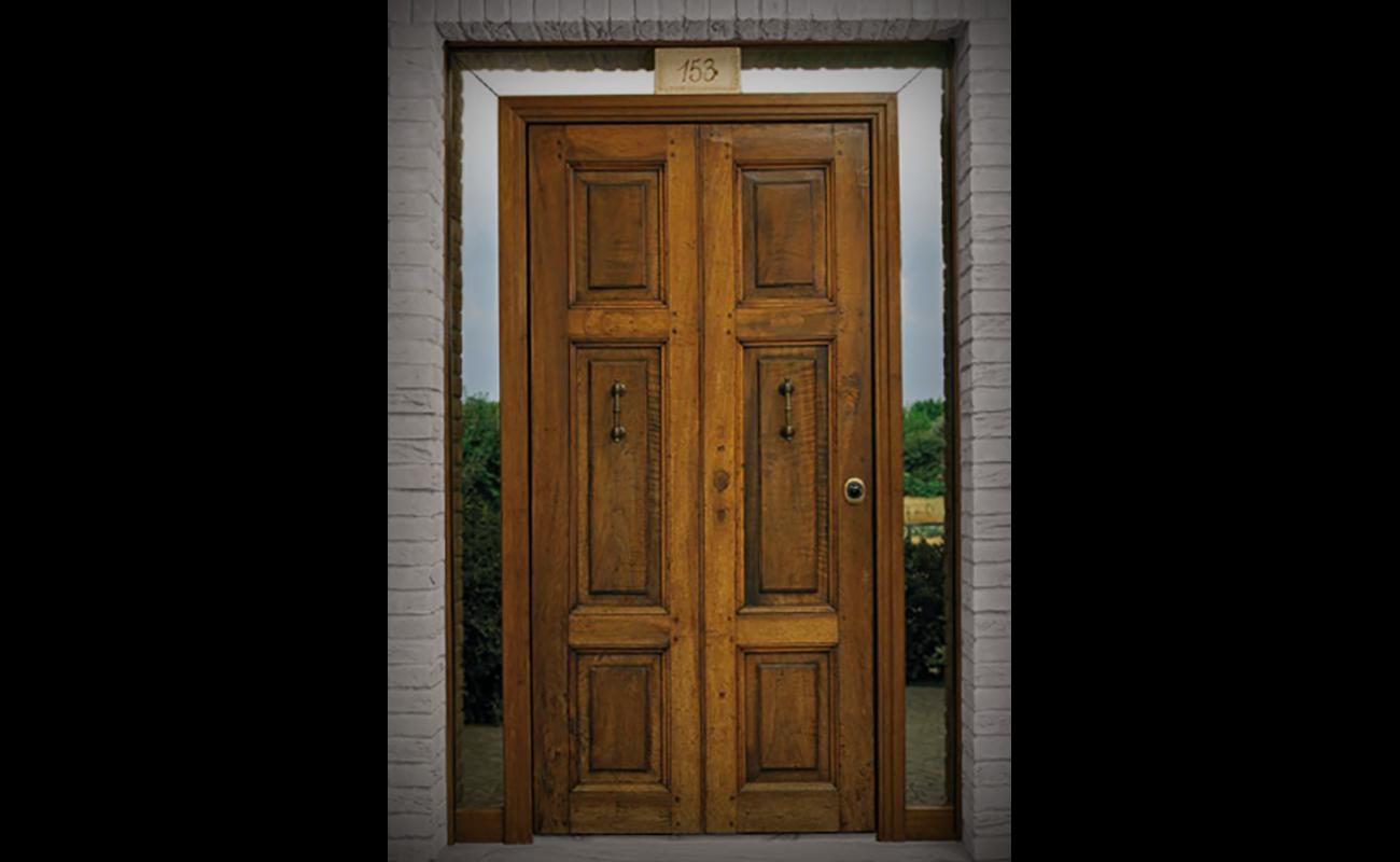 Home laverderosa produzione e vendita porte in legno roma - Porte usate per esterno ...
