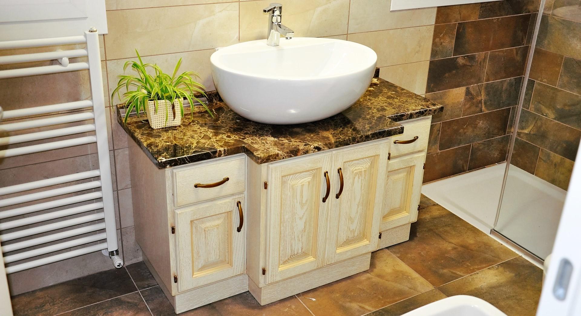 Laverderosa s r l mobili bagno in legno su misura a roma - Mobili bagno in legno ...