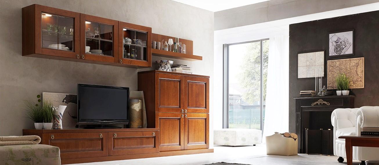 La verderosa s r l arredamento in legno roma mobili su for Mobili per soggiorno