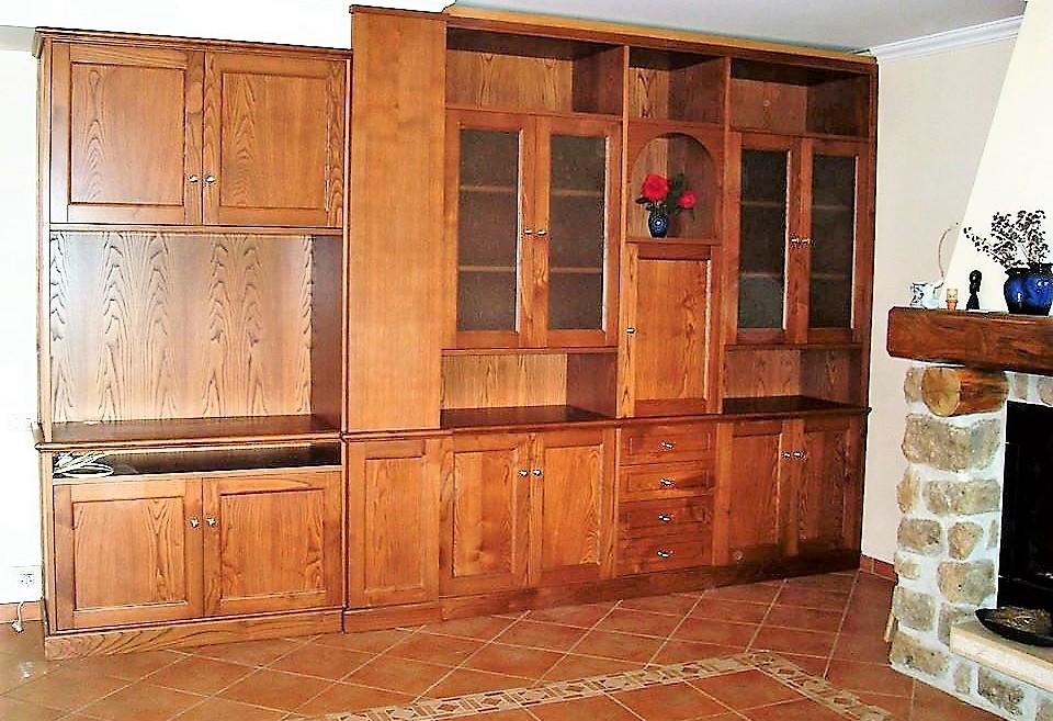 La verderosa s r l arredamento in legno roma mobili su for Rustico un telaio cabina