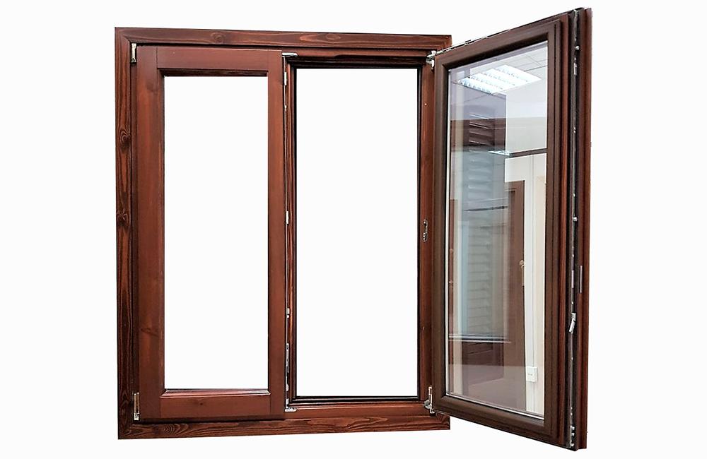 Finestre in legno alluminio a roma su misura infissi a risparmio energetico la verderosa - Finestre in alluminio roma ...