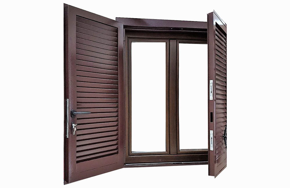 Finestre in legno alluminio a roma su misura infissi a risparmio energetico la verderosa - Finestre in alluminio effetto legno ...