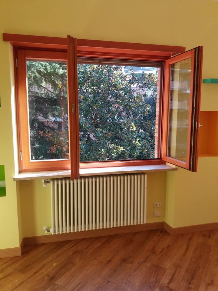 Finestre in legno a roma su misura infissi a taglio termico ad arco persiane la verderosa - Finestre all inglese ...
