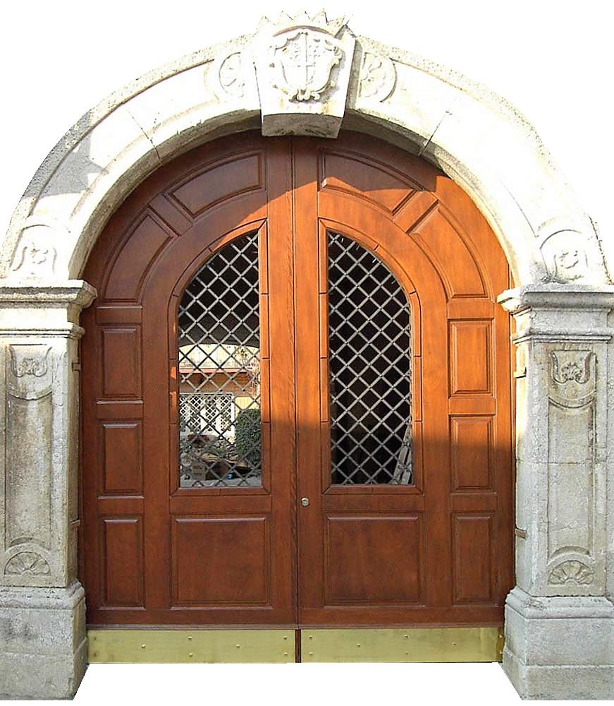 Portoni in legno a roma da esterno su misura storici e - Portoni da esterno prezzi ...