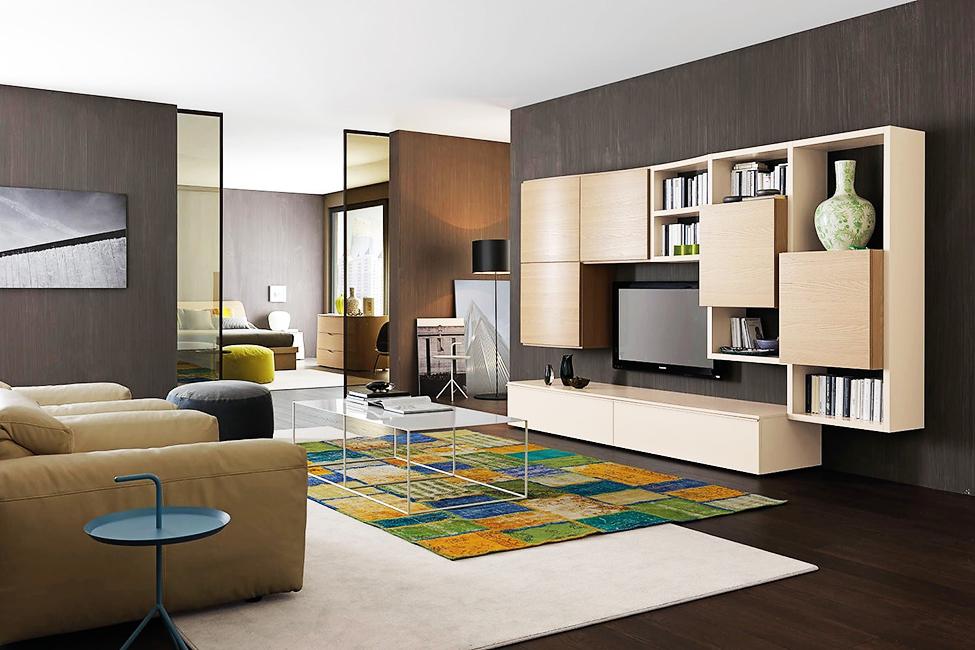 Wall-equipped-modern-living-roma-la-Verderosa
